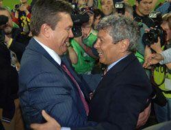 Янукович поздравил Луческу