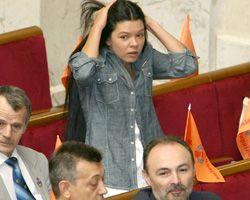 Руслана Лижичко бере участь у засіданні Верховної Ради України. Київ, 25 липня