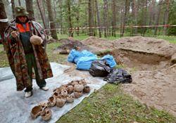 Польские эксперты исследуют братские могилы на местах расстрелов под Киевом, фото из архива УНИАН