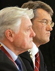Виктор Ющенко, Адамкус