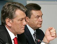 Виктор Ющенко, Виктор Янукович