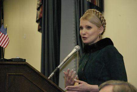 Тимошенко выступает перед украинской диаспорой в Вашингтоне, 1 марта