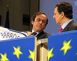 Платини, Баррозу
