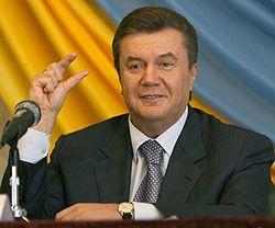 Премьер-министр Украины Виктор Янукович
