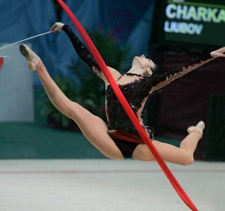 Выступление победительницы кубка Дерюгиной - 2007 Анны Бессоновой (Украина)
