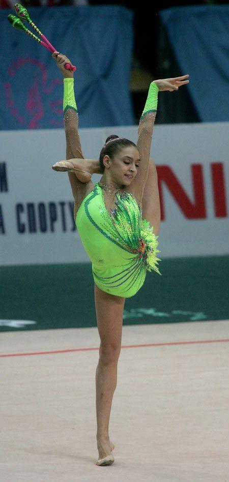 Выступление Евгении Канаевой (Россия) - бронзового призера кубка Дерюгиной