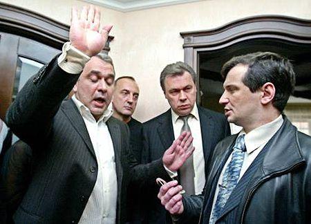 Среди изъятого в квартире Луценко - наградной пистолет «Форт-17» и патроны к нему, сообщил Давид Жвания