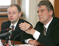 Ющенко, Яценюк