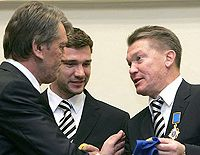 Ющенко, Шевченко, Блохин