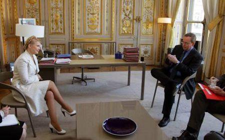 На встрече с Тимошенко лидер французского парламента и министр культуры согласились, что программа привилегированного партнерства имеет значительную перспективу, и ее вполне реально заключить между ЕС и Украиной.