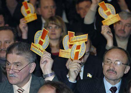 И за нее, и за принятие в НСНУ Ольги Герасимьюк и Станислава Аржевитина голосовали единогласно