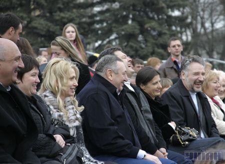 На Юморине было весело нашеукраинцам Гурвицу, Порошенко и Жебривскому