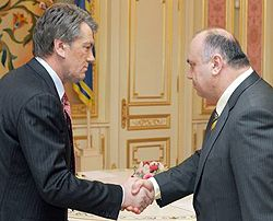 Виктор Ющенко и Василий Цушко