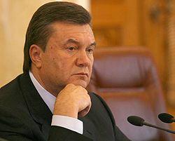 Віктор Янукович дає прес-конференцію для українських та іноземних ЗМІ. Київ, 5 квітня
