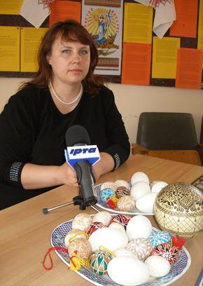 Татьяна Коновал, мастер росписи писанок