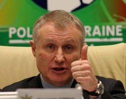 Президент Федерації футболу України Григорій Суркіс