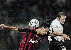 Мілан і Манчестер Юнайтед 3:0. Фото AFP
