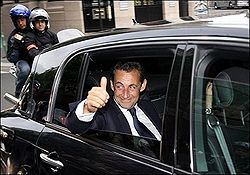 Ніколя Саркозі. Фото AFP
