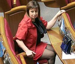 Анна Герман принимает участие в пленарном заседании ВР. Киев, 8 мая