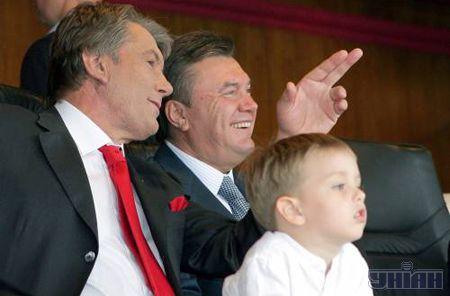 Виктор Андреевич и Виктор Федорович, явно, были в хорошем настроении