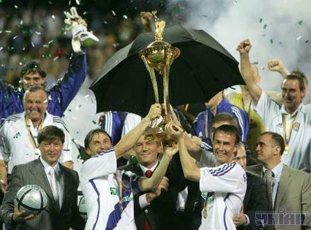 Президент лично вручил Кубок Украины победителю