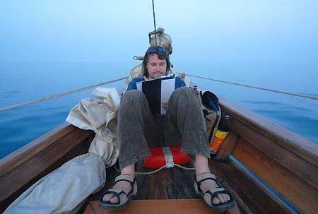 """Записи в морському щоденнику: """"Все давно випили і з'їли. Харчуємось морськими їжаками. Коли вже та сонячна Грузія?"""""""