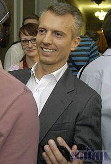 Валерій Хорошковський не виступав. Помітили його лиш завдяки виблискуванню зубів