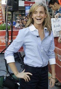 Емма Уотсон, яка зіграла у фільмах про Гаррі Поттера Герміону Грейнджер, уклала угоду з відомим французьким будинком мод Chanel на демонстрацію його одягу. AP Photo