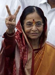 Пратібха Патіл (Pratibha Patil) перша жінка - президент Індії. Photo Reuters