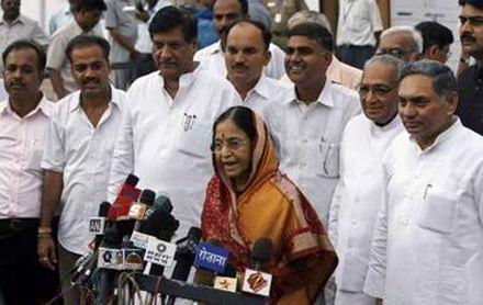 Пратибха Патил (Pratibha Patil) первая женщина - президент Индии. Photo Reuters