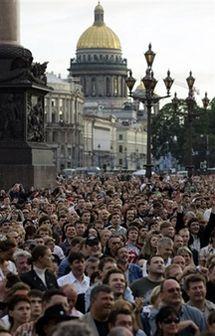The Rolling Stones у Петербурзі. Фото АР