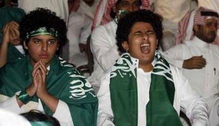 Saudi Arabia`s soccer fans
