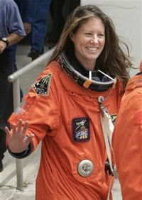 Астронавт-специалист Трейси Колдвелл (AP Photo/NASA)