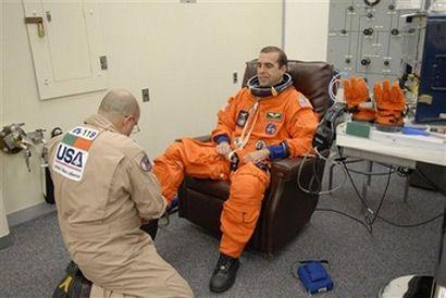 Астронавт-специалист Ричард Мастраччо (AP Photo/NASA)
