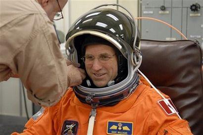 Астронавт Канадского космического агентства Дейв Вильямс (Reuters)