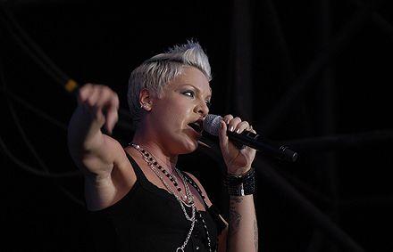 Американская певица Pink