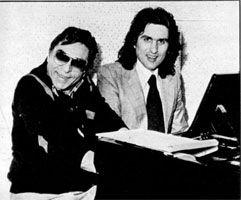 Vito Pallavicini et Toto Cutugno