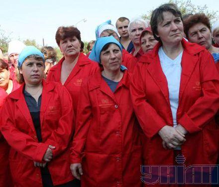 """... на заводе """"Черниговское химволокно"""""""