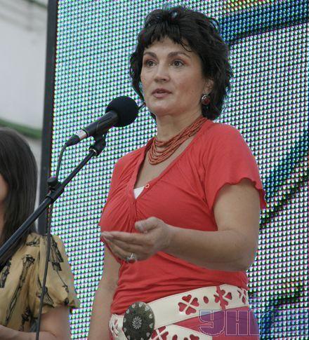 Народная артистка Украины Наталия Сумска – член оргкомитета акции