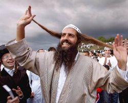 Хасиди святкують єврейський Новий рік. Умань (Черкаська область), 13 вересня