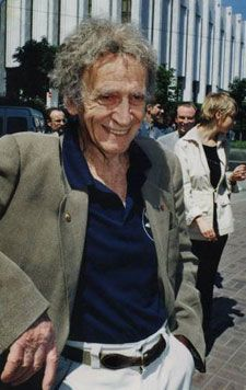 Мишель Марсо в Киеве, 2001 г.