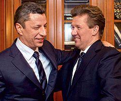 Алексей Миллер и Юрий Бойко
