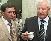 Владимир Бойко, Александр Мороз
