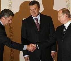 Путин, Бойко, Янукович