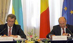 Виктор Ющенко и Траян Бесеску
