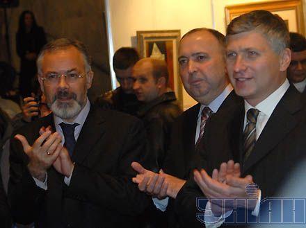 Вице-премьер вместе с коллекционерами открывали коллекцию искусства