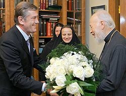 Виктор Ющенко и Владимир (Сабодан)