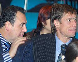 Владимир Моисеенко и Владимир Данилець