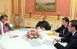 Ющенко, Тимошенко, Луценко, Кириленко