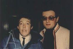 Андрій Макаревич і Борис Баркас, 1975 р.